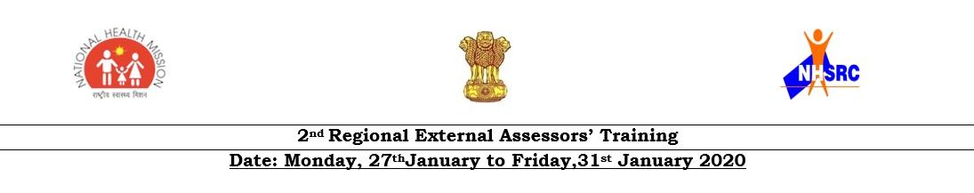 2nd Regional External Assessors' Training